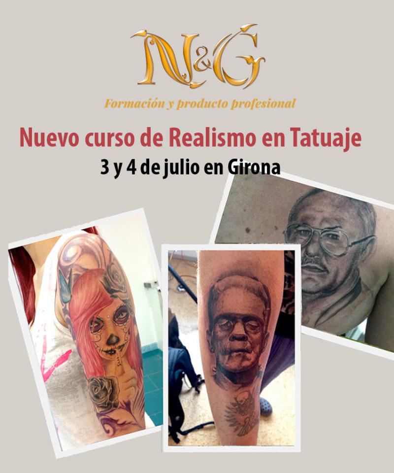 Curso de Realismo en Tatuaje