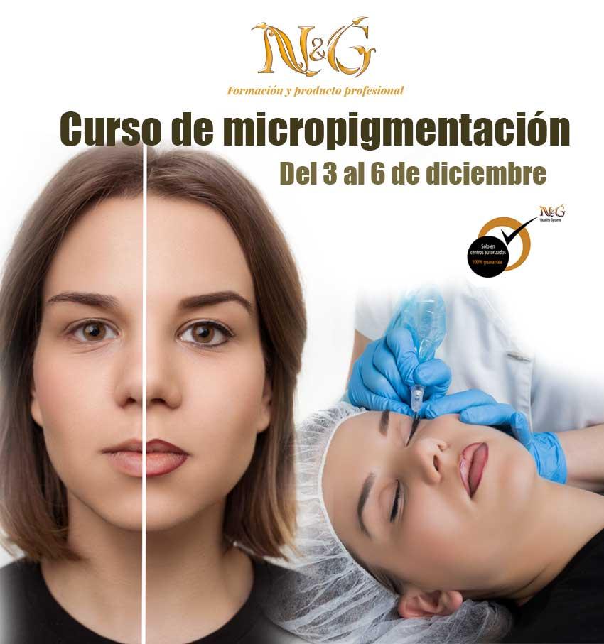 Curso micropigmentación diciembre 2018 en N&G Girona