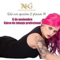 Curso de tatuaje profesional en Girona