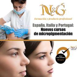 Nuevos cursos de micropigmentación N&G Formación y Producto Profesional