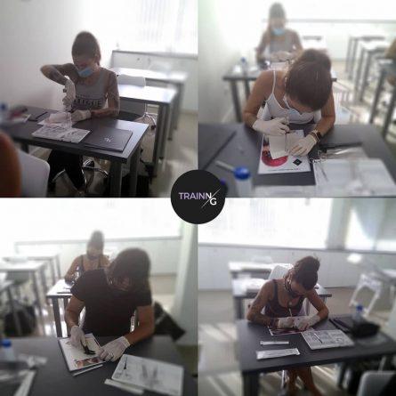 Academia N/G alumnos en clase
